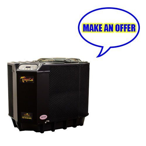 TropiCal 75,000 BTU Heat Pump Swimming Pool Heater - T75 by Aqua Cal