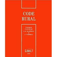 Le code rural 2000 (ancienne édition)