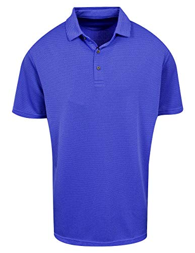 Jack Nicklaus Golf 3-Color Jacquard Polo Black Label (Jack Nicklaus Golden Bear Golf Clubs Review)