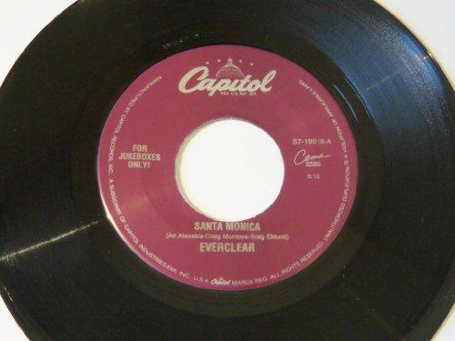 "Price comparison product image Santa Monica / Heroin Girl (acoustic) MISPRESS 7"" 45 - Capitol - S7-19018"