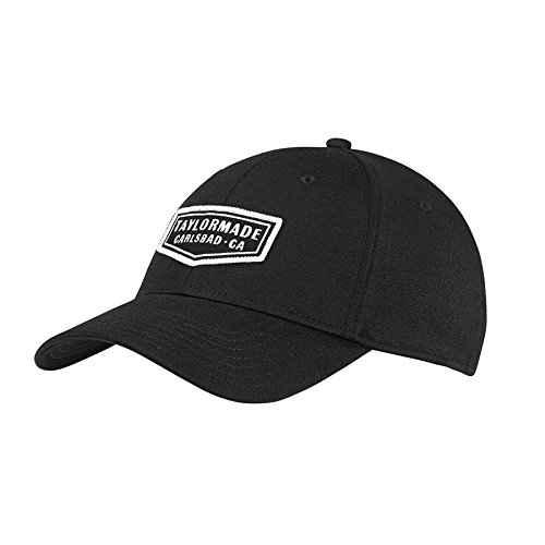 TaylorMade Golf 2018 Men's Lifestyle Cage Hat, Black, -