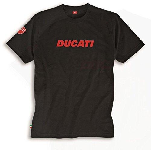 Ducati Ducatiana V2 Short Sleeved T-Shirt Black XXX-Large