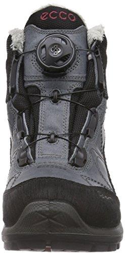Ecco ECCO BIOM TERRAIN LADIES - Zapatillas De Deporte Para Exterior de piel mujer Gris (BLACK/TITANIUM/PETAL TRIM59192)