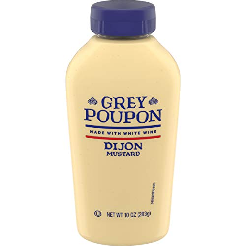 Grey Poupon Dijon Mustard, 10 oz Squeezable Bottle -