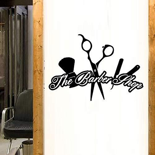 TYLPK Diy Art Hair Salon Barber Shop Etiqueta de la pared ...