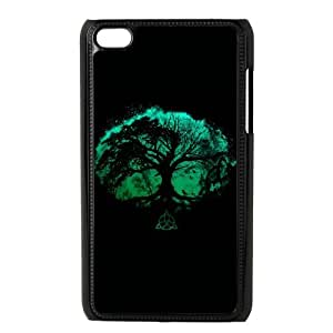 iPod Touch 4 Case Black Tree of Life P6J8OY