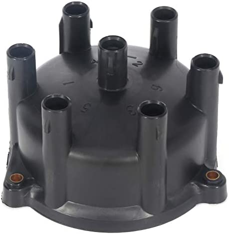 QUALINSIST Ignition Distributor Cap and Rotor fit for Lexu-s Toyot-a Land Cruiser 1993-1997 19101-66010