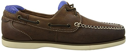 Marrone Uomo Brown Dark da Blue Barca Chatham Churchill Scarpe Brown TaxqSCCXn