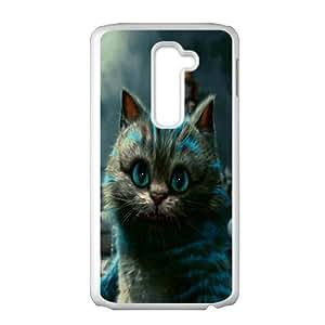 Happy Alice In Wonderland Case Cover For LG G2 Case