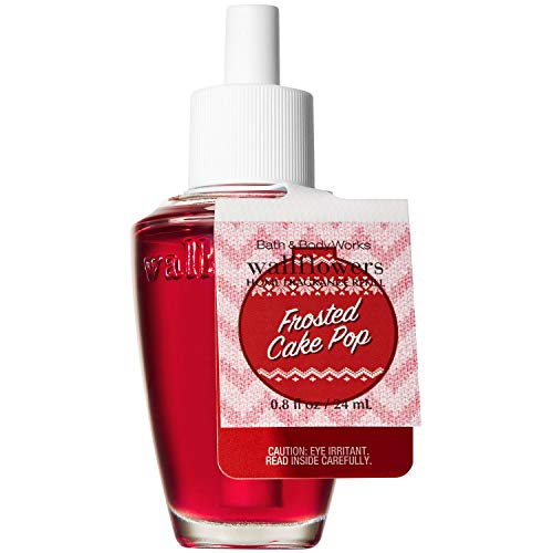 Bath and Body Works FROSTED CAKE POP Wallflowers Home Fragrance Refill 0.8 Fluid Ounce (2018 Holiday -