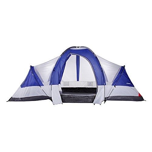 North Gear Camping Deluxe 8 Person 2 Room Family Tent 18′ x 10′