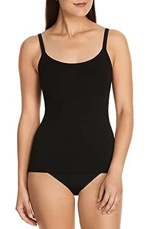 Berlei Women's Underwear Cotton Blend Nothing Naturals Cami, Black, M