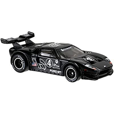 Hot Wheels Retro Entertainment Gran Turismo Ford GT (Black) Die-Cast Vehicle 1/5: Toys & Games