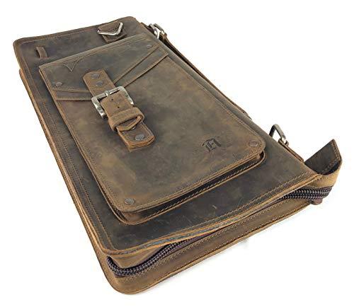 Full Grain Leather Drum Stick Bag -