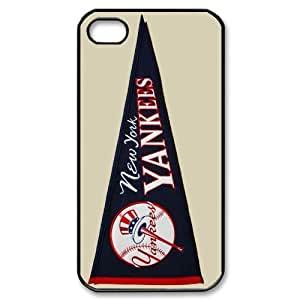 MLB iPhone 4,4S White New York Yankees cell phone cases&Gift Holiday&Christmas Gifts NADL7B8824431