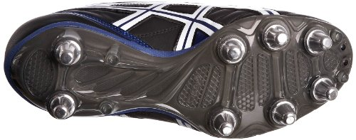Asics Homme Charge Noir Lethal Rugby Chaussures blanc De bleu zXzrUanT