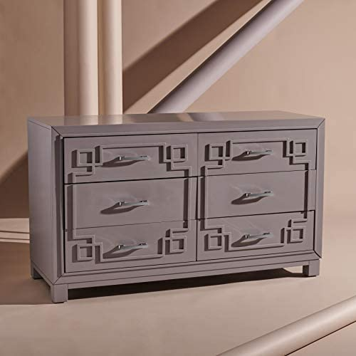 Safavieh Couture Home Collection Raina Greek Key 6-Drawer Dresser