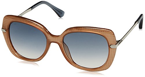 Jimmy Choo Women's Ludi/S Nude/Palladium/Gradient Lens - Brands Palladium In