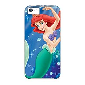 Lmf DIY phone caseDurable ipod touch 5 Case, Chibi The Little Mermaid Ariel Black TPU Case for ipod touch 5Lmf DIY phone case