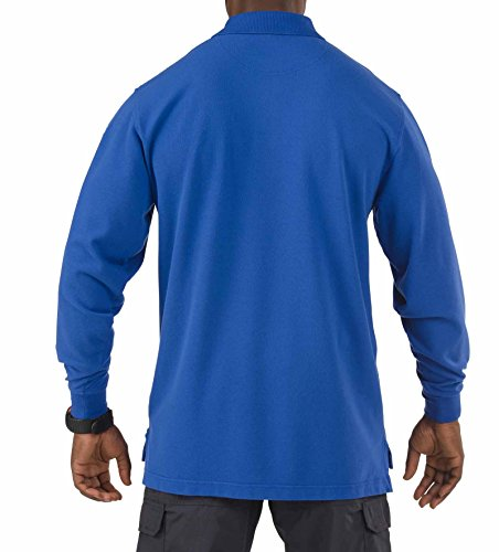 5.11 Tactical Professional LS Polo Shirt - Academy Blue - X Large