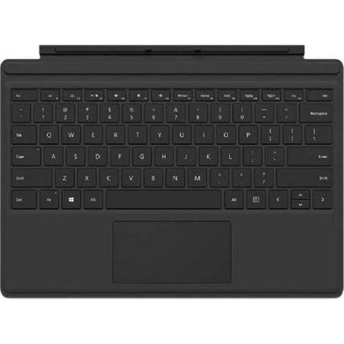 Microsoft Surface Pro 4 Type Cover R9Q-00001 Ultra-Thin Backlit Keyboard (Best Keyboard Surface Pro 4)