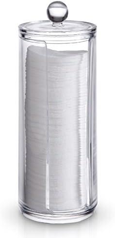 Domopak Living - Dispensador de Discos de algodón - Transparente ...