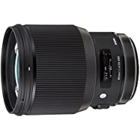 Sigma 85mm f/1.4 DG HSM Art Lens for Canon EF (Black)