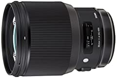 An ultimate portrait lens that offers attractive booked effect and precise focus is possible to achieve to focus on the pupils of subjects eyes while blurring the eyelashes. It has equipped newly designed hyper sonic motor (HSM) for nimble AF...