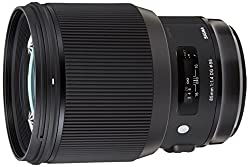 Image of the product Sigma   Art 85mm F14 DG that is listed on the catalogue brand of Sigma. This item has been rated with a 5.0 scores over 5