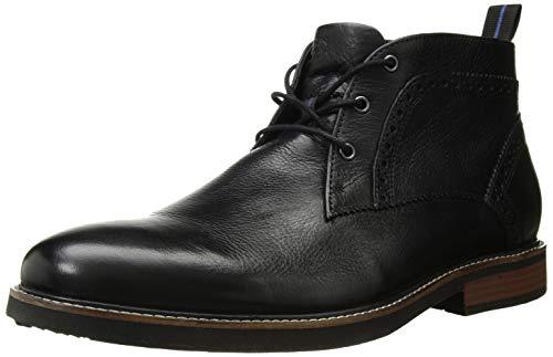 - Nunn Bush Men's Ozark Plain Toe Chukka Boot with KORE Comfort Technology Black, 10.5 X-Wide