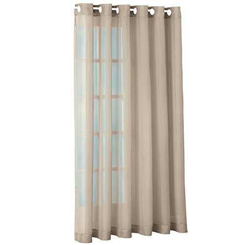Privacy Grommet Window Curtain Polyester