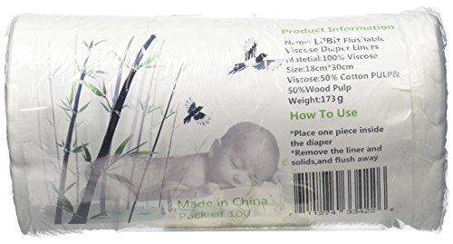 Lilbit Diaper Biodegradable Flushable Viscose product image