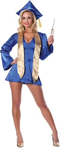 Costumes Silber Pierre (Delicious PhD Darling Costume, Blue,)