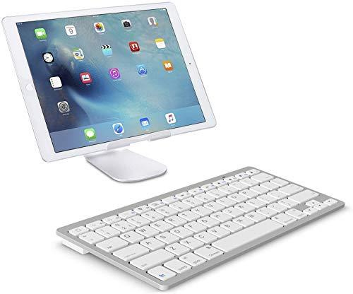 durReey 3.0 Ultra Slim Bluetooth Tablet Keyboard White