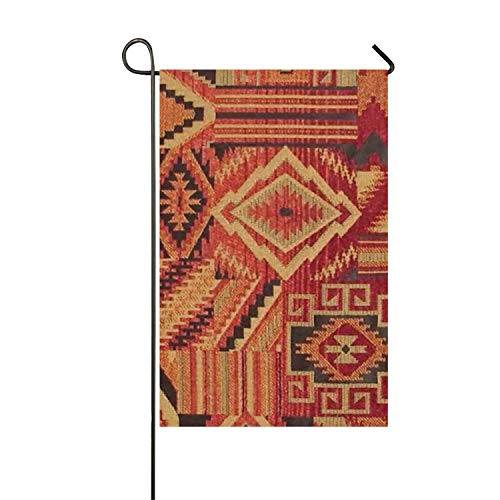 HEHESELL North American Indian Beadwork Patterns Clip Art Welcome Garden Flag Vertical Outdoor & Indoor