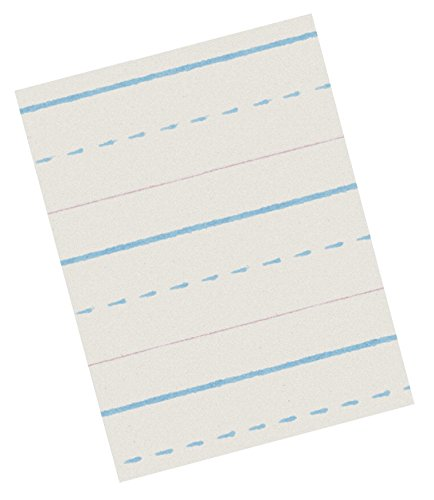 School Smart Zaner Bloser Handwriting Paper, 10-1/2 x 8 Inches, 500 Sheets