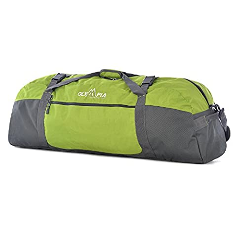 Olympia Luggage 36 Inch Sports Duffel,Green,One Size - 8 Suiter