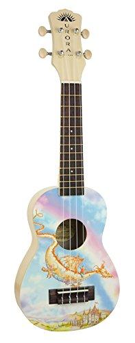 Luna AR2 Soprano Dragon Ukulele by Luna Guitars