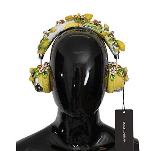 Lemon Crystal Wireless Leather Headphones (Wireless Headphones Igo)