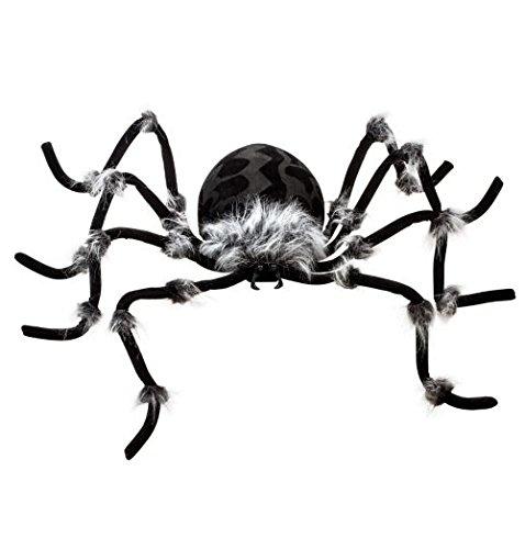 Hairy Tarantula Giant Spider 50 Inches Halloween Spiders Best halloween decorations,Christmas Decor (big, black)