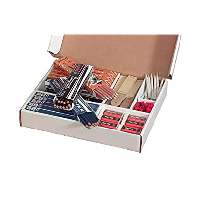 Image of Art Sets General's Sketchmate Classroom Art Pack, Pack of 168 Pencils-Plus Sharpeners,Book and Erasers