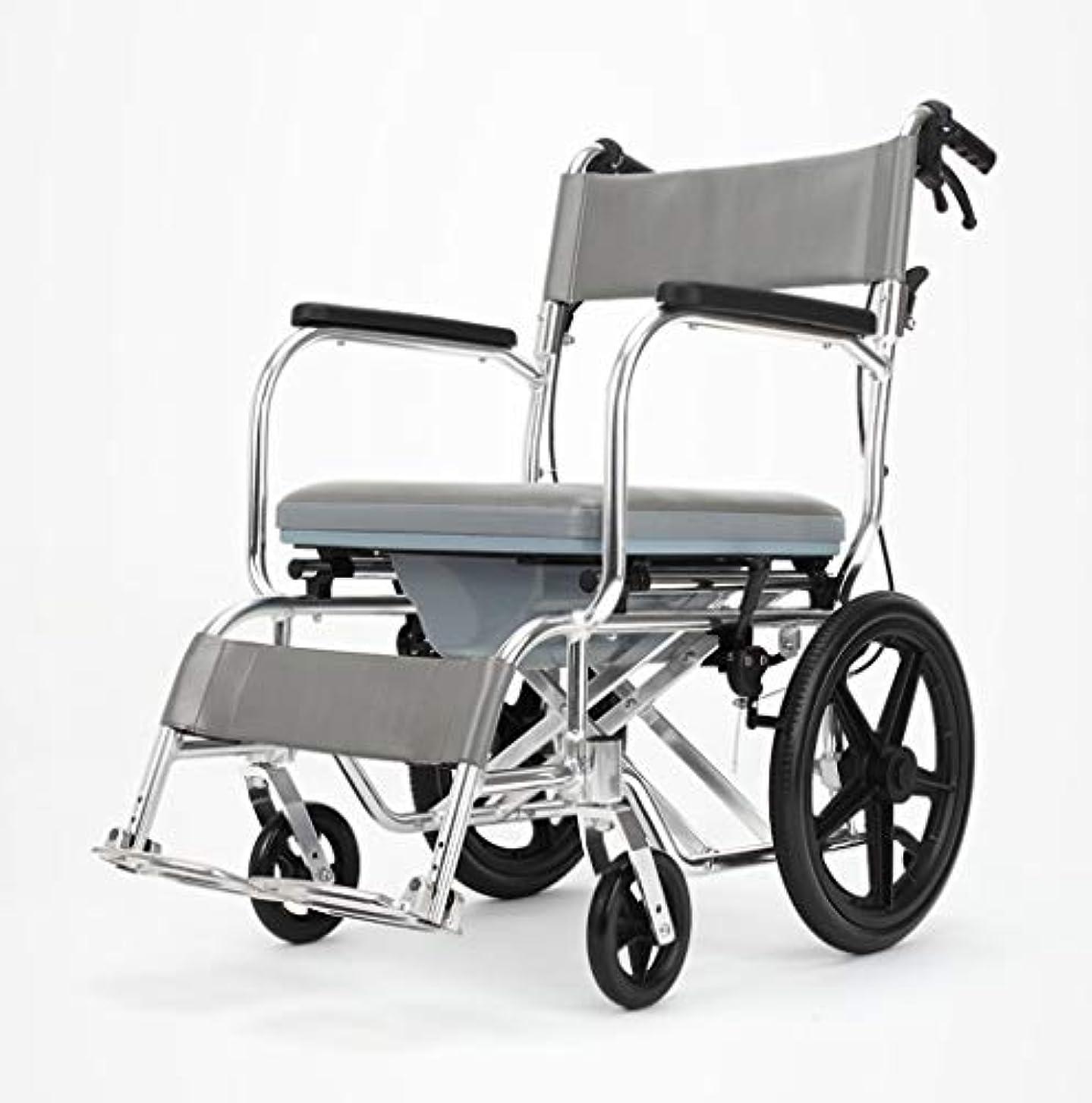 言及する太鼓腹風が強い車椅子折りたたみ式多機能安全ケア、ブレーキ、ポータブルトロリー、身体障害者用屋外車椅子
