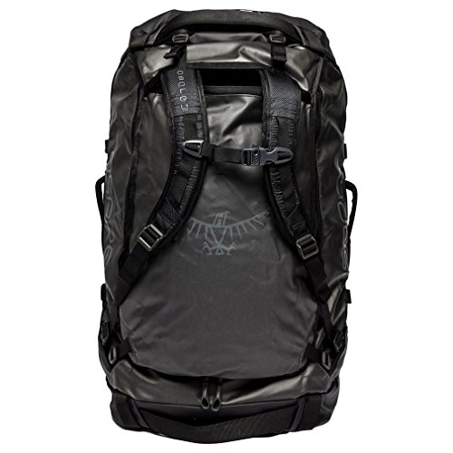 Osprey Packs Transporter 95 Expedition Duffel, Black, One Si