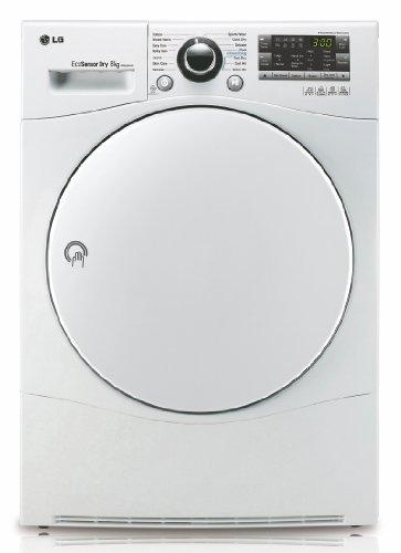 LG RC 8055 AH1Z Wärmepumpentrockner / A++ / 8 kg / Selbstreinigender Kondensator / Skin Care / Smart Diagnosis / weiß