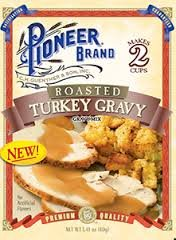 Pioneer Brand Roasted Turkey Gravy 1.41 Oz Packet (Pack of 6) (Turkey Gravy Packets)
