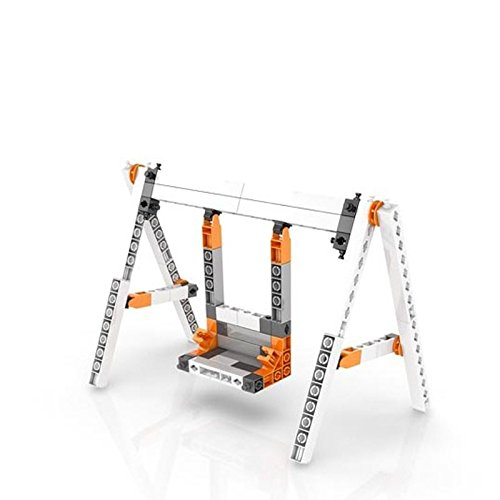 41ANW8vH67L - Engino Discovering STEM Mechanics Levers & Linkages | 16 Working Models | Illustrated Instruction Manual | Theory & Facts | Experimental Activities | STEM Construction Kit