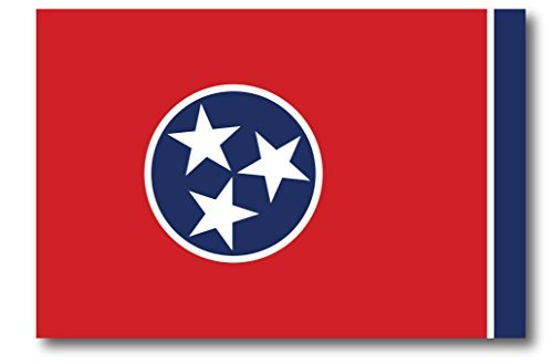 Tennessee Car Magnet US State Flag Refrigerator Locker SUV Heavy Duty Waterproof…