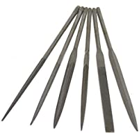 Wax File Set, 6 pc, 5-1/2in - FIL-993.00 by EuroTool