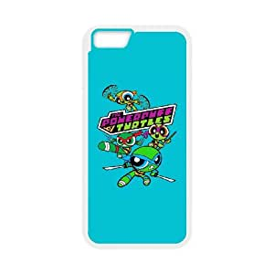 iPhone 6 4.7 Inch Cell Phone Case White The Powerpuff Turtles UFW Fashion Phone Case Custom