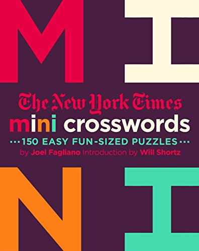 Pdf Travel The New York Times Mini Crosswords, Volume 2: 150 Easy Fun-Sized Puzzles